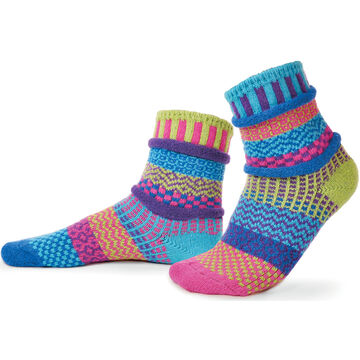 Solmate Womens Bluebell Crew Sock