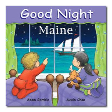 Good Night Maine Board Book by Adam Gamble