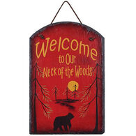 Ohio Wholesale Our Neck Of The Woods Slate Sign