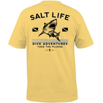 Salt Life Mens Take The Plunge Short-Sleeve T-Shirt
