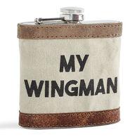 Mona B Wingman Flask