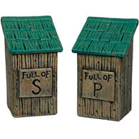 Rivers Edge Outhouse Salt & Pepper Shaker Set