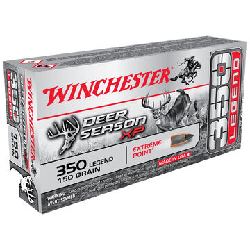 Winchester Deer Season XP 350 Legend 150 Grain Extreme Point  Rifle Ammo (20)