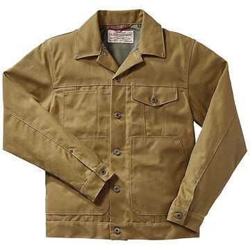 Filson Mens Tin Cloth Short Lined Cruiser Jacket