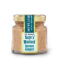 Raye's Mustard Mini Brown Ginger Mustard