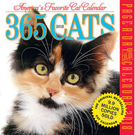 365 Cats 2018 Page-A-Day Calendar by Workman Publishing