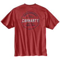 Carhartt Men's Big & Tall Relaxed Fit Heavyweight Rugged Graphic Pocket Short-Sleeve T-Shirt