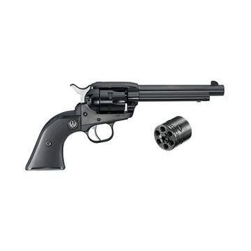 Ruger Single-Six Blued & Fixed Sights Convertible 22 LR / 22 WMR 5.5 6-Round Revolver