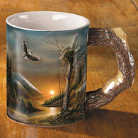 Wild Wings Flying Free Eagle Mug