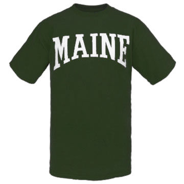 Cape Cod Textile Mens Big & Tall Maine Arch Short-Sleeve T-Shirt