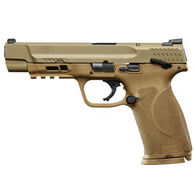 "Smith & Wesson M&P9 M2.0 FDE Thumb Safety 9mm 5"" 17-Round Pistol"