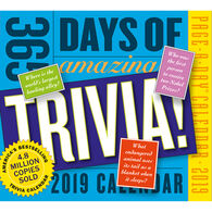 365 Days of Amazing Trivia! 2019 Page-A-Day Calendar by Workman Publishing