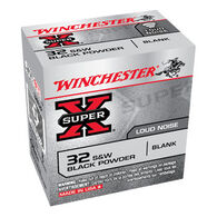 Winchester Super-X 32 Smith & Wesson Black Powder Blank Ammo (50)