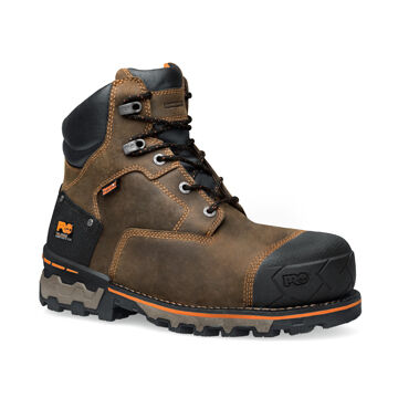 Timberland PRO Mens 6 Boondock Waterproof Safety Toe Work Boot