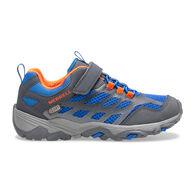 Merrell Boys' Big KId Moab FST Low A/C Waterproof Sneaker/Hiking Shoe
