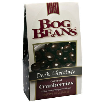 Cape Cod Specialty Foods Bog Beans Dark Chocolate Covered Cranberries