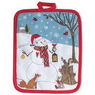 Kay Dee Designs Woodland Christmas Snowman Potholder