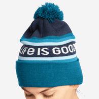 Life is Good Women's LIG Stripes So Chill Beanie