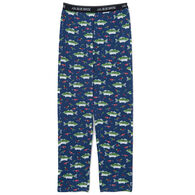 Hatley Little Blue House Men's Gone Fishing Pajama Pant
