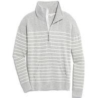 Vineyard Vines Women's Lightweight Dreamcloth Funnel-Neck Half-Zip Long-Sleeve Pullover