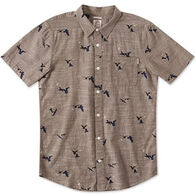 O'Neill Men's Gully Short-Sleeve Woven Shirt