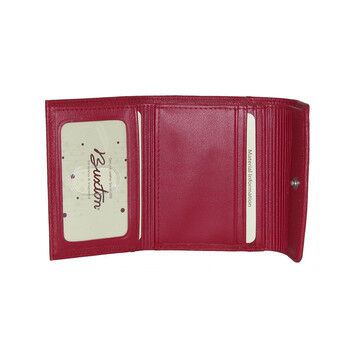 Buxton Womens Hudson Mini Tri-Fold Wallet