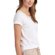Hatley Women's Cotton Linen Short-Sleeve T-Shirt
