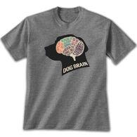 Earth Sun Moon Trading Men's Dog Brain Short-Sleeve T-Shirt