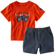Carhartt Infant/Toddler Boys' Outride Them All Set, 2pc