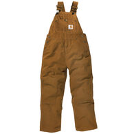 Carhartt Boy's Washed Canvas Bib Overall
