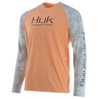 Huk Men's Subphantis Double Header Vented Performance Fishing Long-Sleeve Shirt