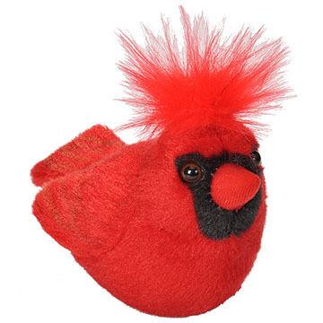 Wild Republic Audubon Stuffed Animal - Northern Cardinal