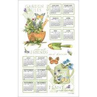 Kay Dee Designs 2018 Garden Rules Calendar Towel
