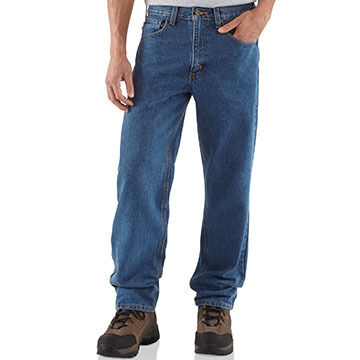 Carhartt Mens Relaxed-Fit Straight-Leg Jean