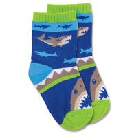 Stephen Joseph Toddler Shark Sock