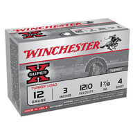 "Winchester Super-X Turkey Load 12 GA 3"" 1-7/8 oz. #4 Shotshell Ammo (10)"
