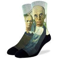 Good Luck Sock Men's American Gothic Crew Sock