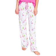 P.J. Salvage Women's Playful Prints Flamingo Sleep Pant