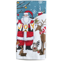 Kay Dee Designs Woodland Christmas Santa Terry Towel