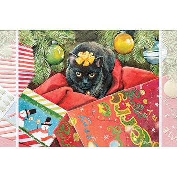 Pumpernickel Press Holiday Headgear Deluxe Boxed Greeting Cards