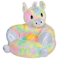 Trend Lab Children's Plush Rainbow Unicorn Character Chair