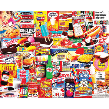 White Mountain Jigsaw Puzzle - Things I Ate As A Kid