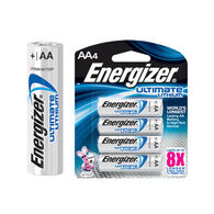Energizer Ultimate Lithium AA Battery - 2 or 4 Pk.