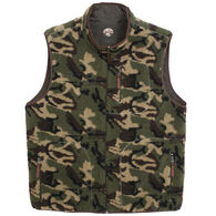 Madison Creek Outfitters Men's Camo Reversible Fleece Vest