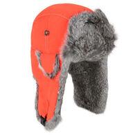 Mad Bomber Men's Supplex Fur Trim Bomber Hat