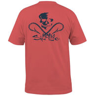 Salt Life Men's Skull & Hooks Pocket Short-Sleeve T-Shirt