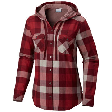 Columbia Womens Times Two Hooded Long-Sleeve Shirt