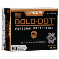 Speer Gold Dot Personal Protection 25 Auto 35 Grain HP Handgun Ammo (20)