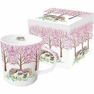 Paperproducts Design Hyde Park Hedgehogs Gift-Boxed Mug