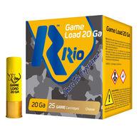 "Rio Sub-Gauge Game Load 20 GA 2-3/4"" 1 oz. #8 Shotshell Ammo (25)"